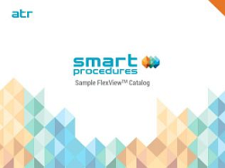 Sample FlexView Catalog